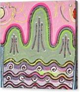 Il-wol-o-bong-do Acrylic Print