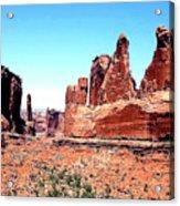 In Monument Valley, Arizona Acrylic Print