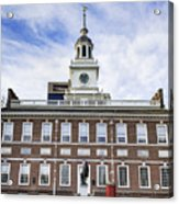 Independence Hall Philadelphia Acrylic Print