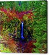 Indian Canyon Waterfall Acrylic Print