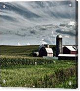 Iowa Farmstead Acrylic Print