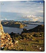 Isla De Sol Bolivia Acrylic Print