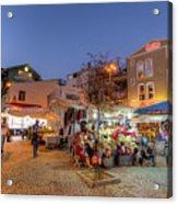 Istanbul At Night Acrylic Print