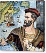 Jacques Cartier (1491-1557) Acrylic Print