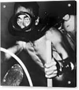 Jacques Cousteau (1910-1997) Acrylic Print