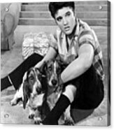 Jailhouse Rock, Elvis Presley, 1957 Acrylic Print