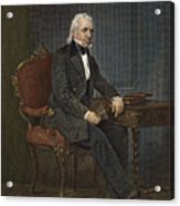 James Knox Polk (1795-1849) Acrylic Print