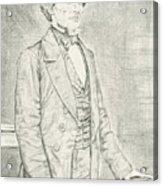 Jefferson Davis Acrylic Print