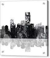 Jersey City New Jersey Skyline Acrylic Print