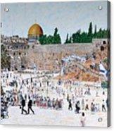 Jerusalem Day Acrylic Print