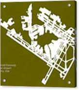Jfk John Fitzgerald Kennedy International Airport In New York Ci Acrylic Print