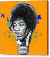 Jimi Hendrix Electric Acrylic Print