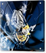 Joe Bonamassa Blues Guitarist Art Acrylic Print
