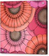 Just Flowers Acrylic Print