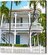 Key West Florida The Conch Republic Acrylic Print