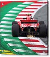 Kimi Raikkonen Austria 2018 Acrylic Print
