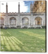 King's College Cambridge Acrylic Print