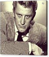 Kirk Douglas, Vintage Actor Acrylic Print