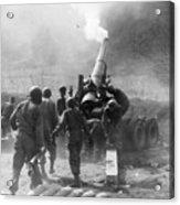 Korean War: Artillery Acrylic Print