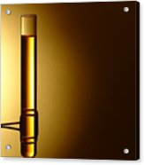Laboratory Test Tube In Science Research Lab Acrylic Print