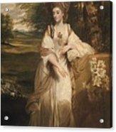 Lady Bampfylde Acrylic Print