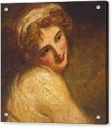 Lady Hamilton Acrylic Print