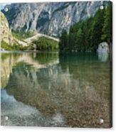 Lago Di Braies Acrylic Print