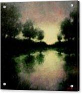 Lagoon At Sunset Acrylic Print