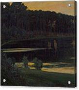 Lake Grunewald Acrylic Print
