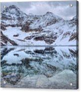 Lake Mcarthur Reflection Panoramic Acrylic Print