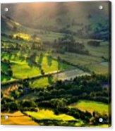 Landscape By Acrylic Print