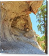 Landscape In Joshua Tree National Park Acrylic Print