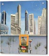 Last Dim Sum In Singapore Acrylic Print