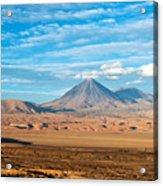 Licancabur Volcano View Acrylic Print