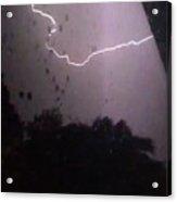 Wicked Lightning Acrylic Print