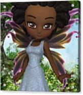 Lil Fairy Princess Acrylic Print