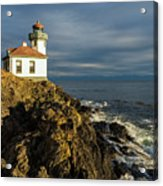 Lime Kiln Lighthouse Acrylic Print