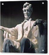 Lincoln Memorial: Statue Acrylic Print