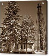 Liston Rear Range Lighthouse De Acrylic Print