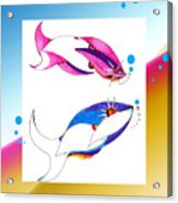 2 Little Fish Acrylic Print