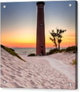 Little Sable Point Light Station Acrylic Print