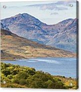Loch Arklet And The Arrochar Alps Acrylic Print