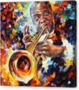 Louis Armstrong . Acrylic Print