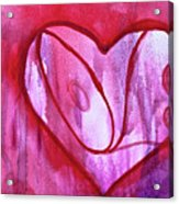 Love Heart Acrylic Print