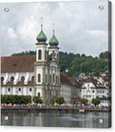 Lucerne Switzerland Acrylic Print
