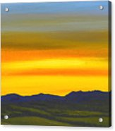 Luminescent Sunrise Acrylic Print