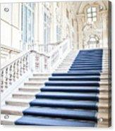 Luxury Interior In Palazzo Madama, Turin, Italy Acrylic Print