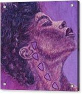 Madame Zasha Acrylic Print by Shahid Muqaddim