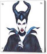 Maleficent  Once Upon A Dream Acrylic Print