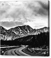 Mammoth Lakes Area Of California Acrylic Print